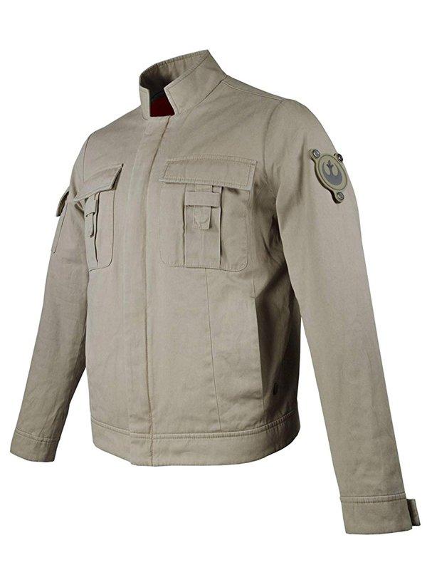 Star Wars Empire Strikes Back Mark Hamill Beige Jacket