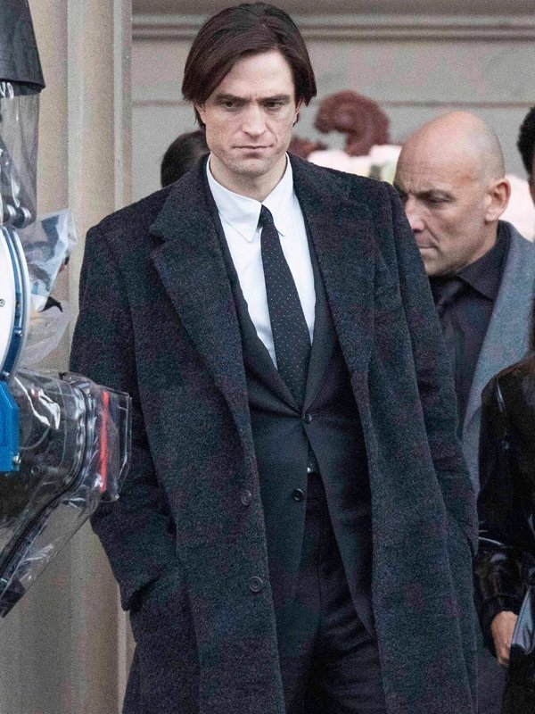 The Batman 2022 Bruce Wayne Coat