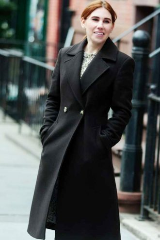 The Flight Attendant Annie Black Trench Coat