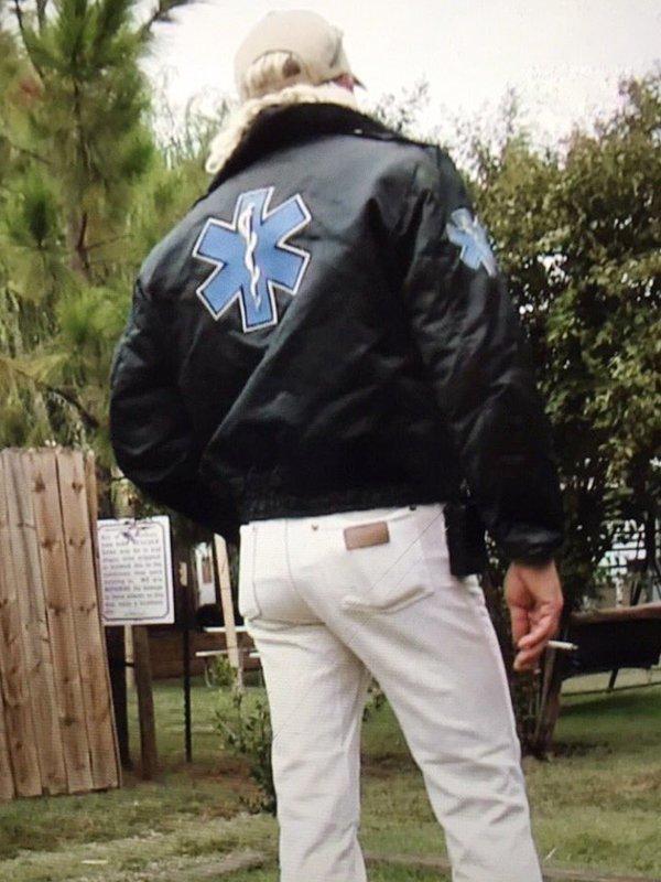 Tiger King Murder Mayhem & Madness Joe Exotic Black Bomber Jacket