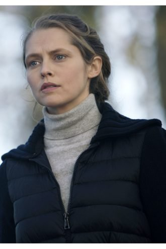 Tv Series A Discovery of Witches Teresa Palmer Black Puffer Jacket
