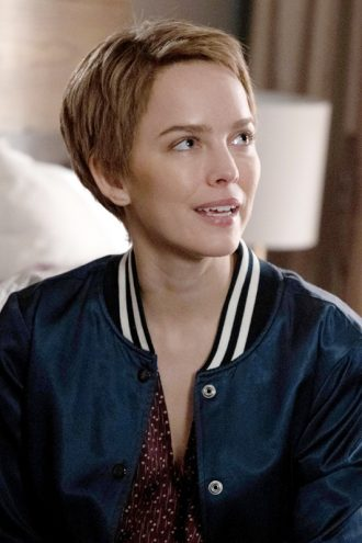 Tv Series A Million Little Things S02 Maggie Bloom Blue Varsity Jacket