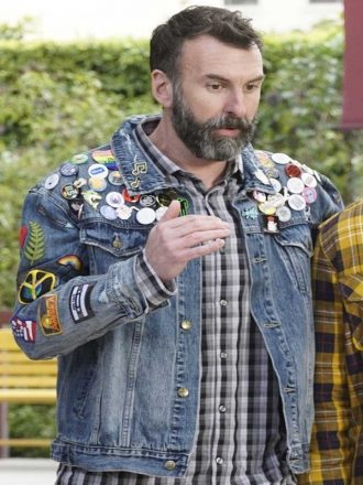 Tv Series Black-ish Denim Blue Jacket With Patches