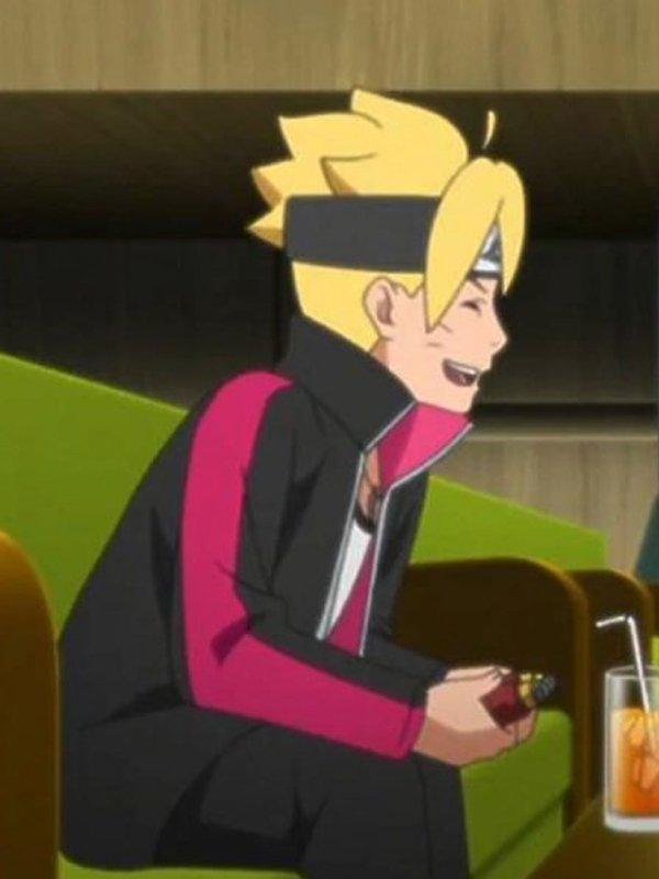 Uzumaki Boruto Naruto Next Generation Fleece Jacket