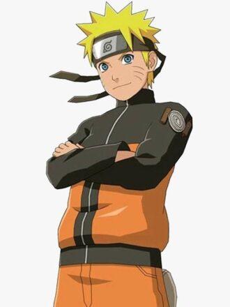 Uzumaki Naruto Naruto Shippuden Puffer Jacket