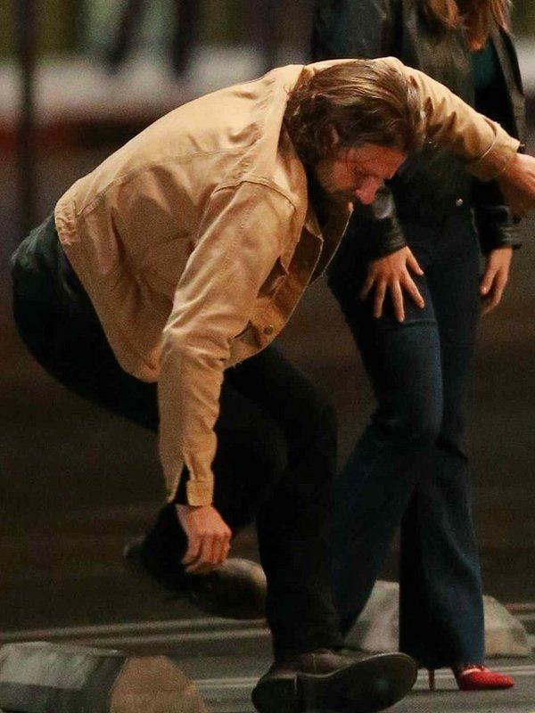A Star Is Born Bradley Cooper Cotton Jacket
