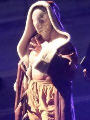 Alicia Keys MTV Awards Long Shearling Leather Coat