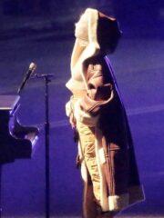 Alicia Keys MTV Music Awards Long Shearling Coat