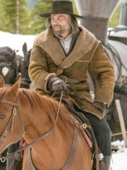 Anson Mount Hell on Wheels Shearling Brown Leather Coat