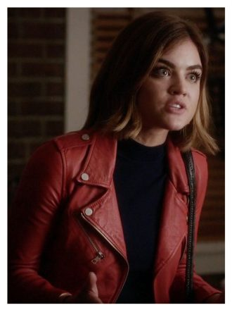 Aria Montgomery Pretty Little Liars Leather Jacket