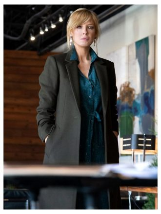 Beth Dutton Yellowstone S03 Long Trench Coat