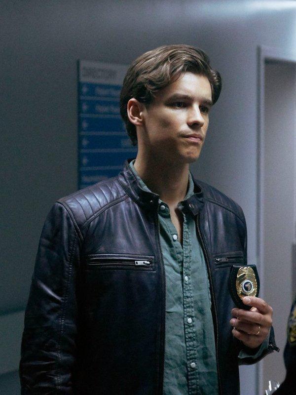 Brenton Thwaites Titans Leather Jacket