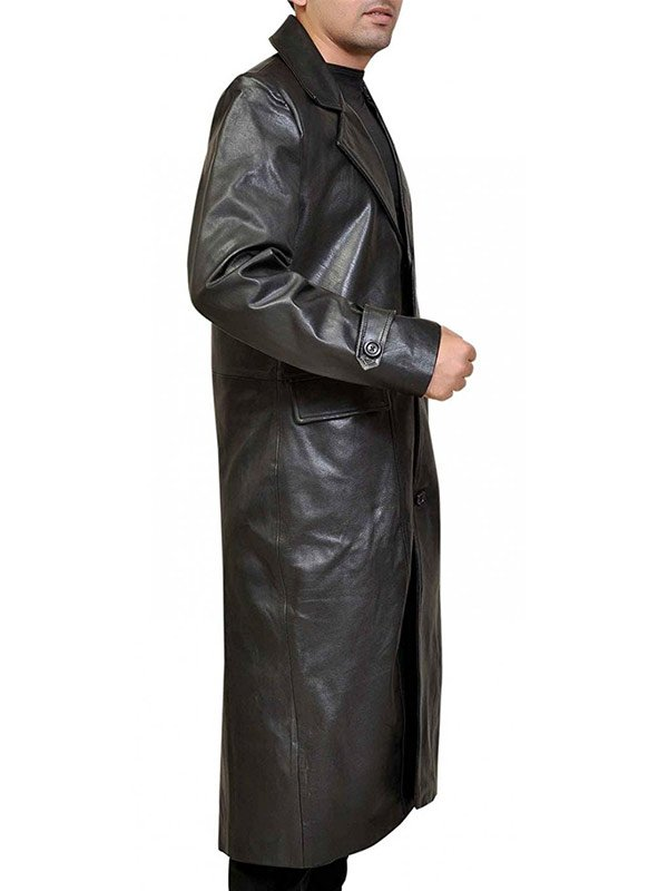 Clark Kent Superman Smallville Leather Coat
