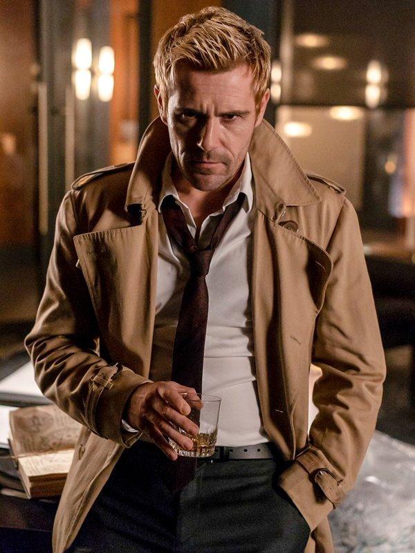 Constantine Matt Ryan Coat