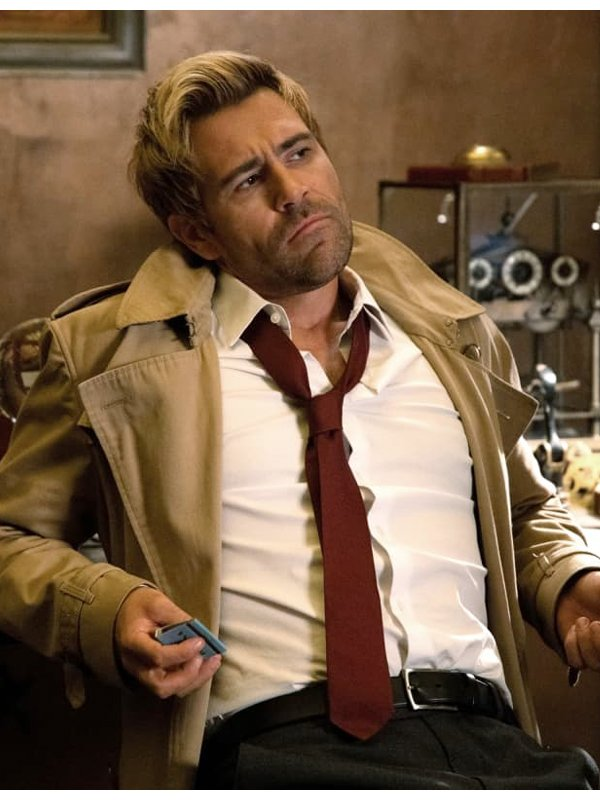 Constantine Matt Ryan Cotton Coat