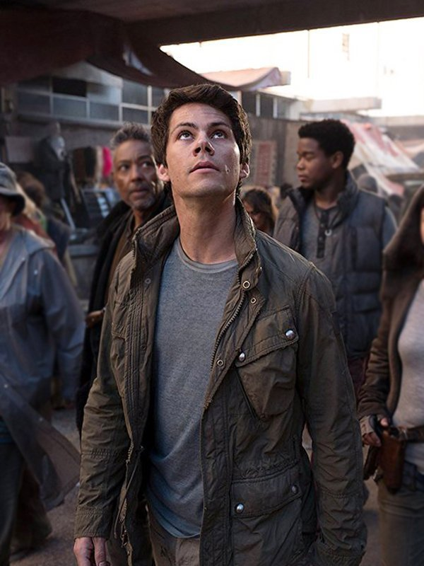 Dylan O'brien Maze Runner The Death Cure Cotton Jacket