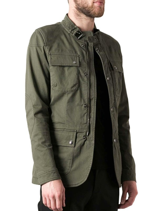 Dylan O'brien Maze Runner The Death Cure Militry Green Jacket