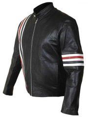 Easy Rider Captain America Biker Leather Jacket