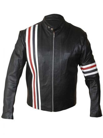Easy Rider Captain America Motorcycle Leather Jacket