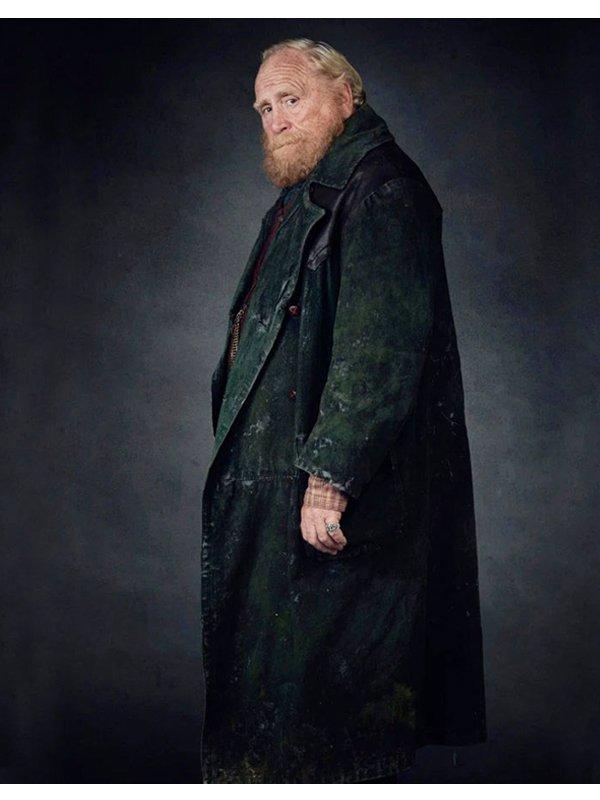 Farder Coram His Dark Materials Green Trench Coat