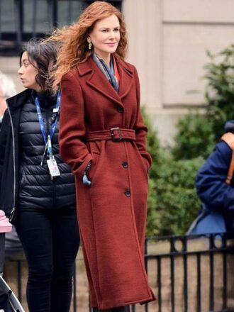 Grace Sachs Brown Wool Coat