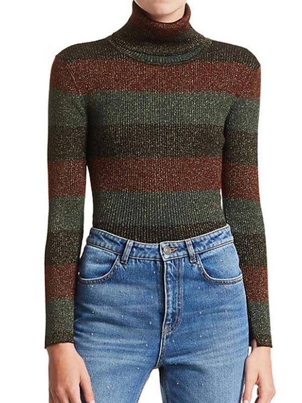 Grace Sachs The Undoing Stripe Sweater