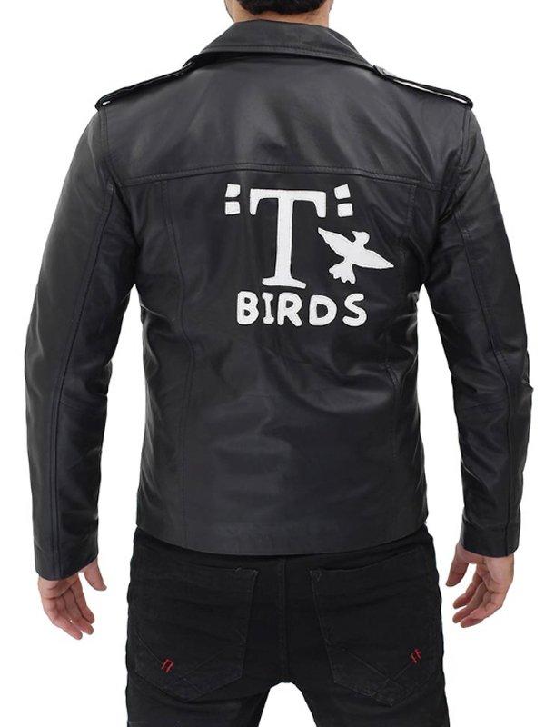 Grease John Travolta T-Birds Leather Jacket