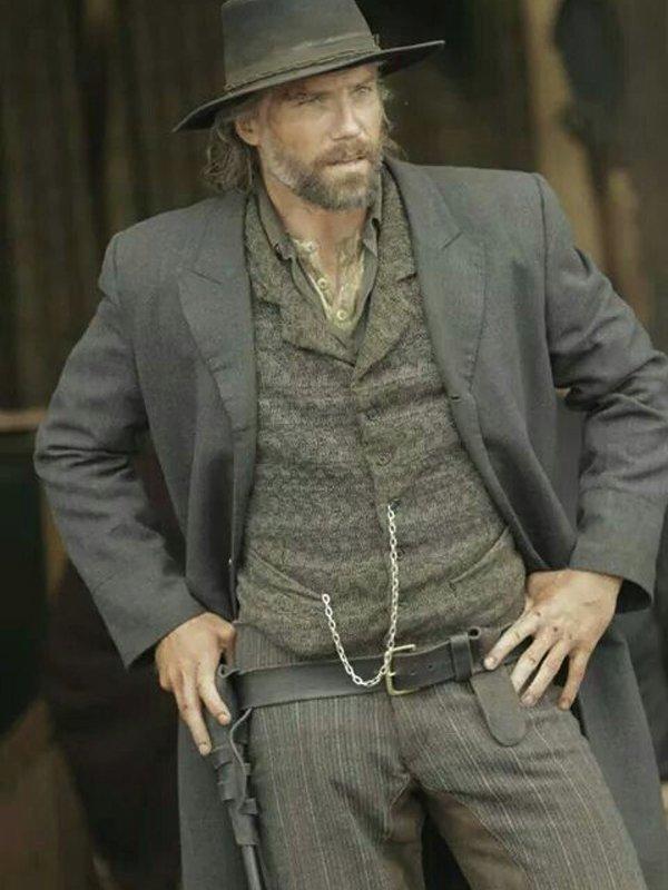 Hell On Wheels Cullen Bohannon Cotton Coat