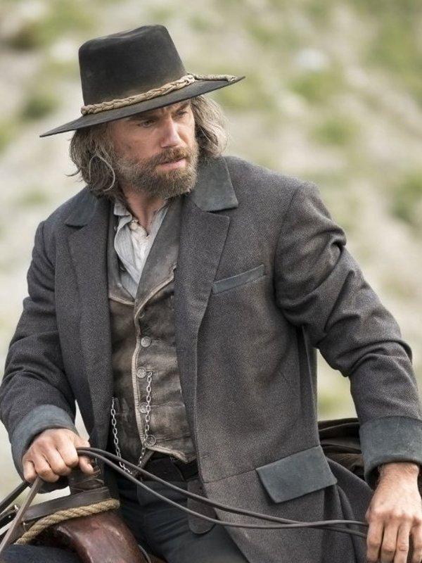 Hell On Wheels Cullen Bohannon Grey Coat