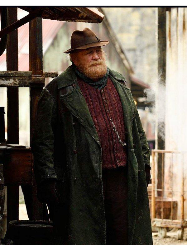 His Dark Materials James Cosmo Green Coat