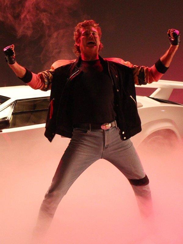 Hoff 9000 Kung Fury Cobra David Hasselhoff Jacket