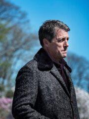 Hugh Grant The Undoing Fur Collar Coat