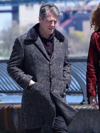 Hugh Grant The Undoing Wool Coat