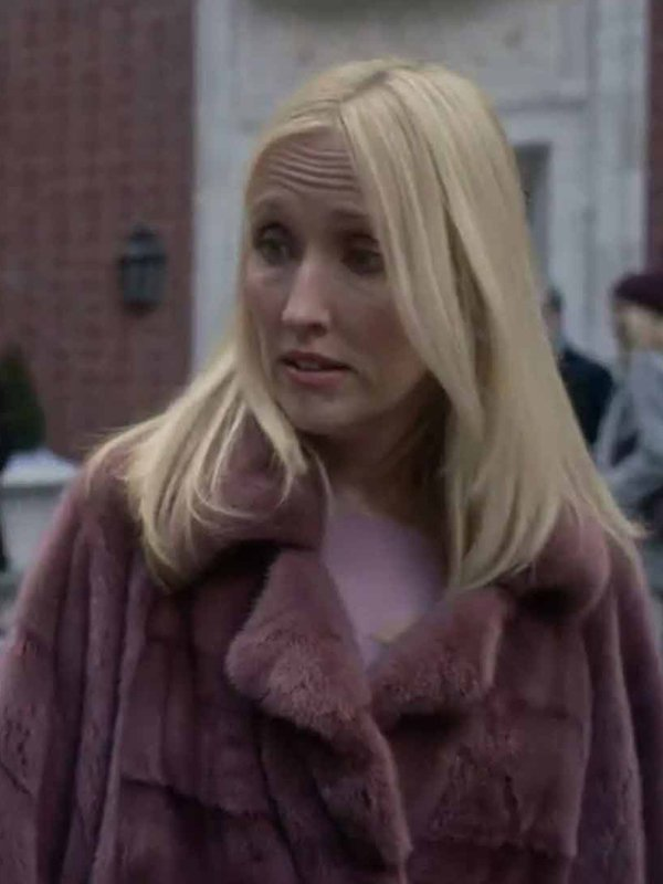 Janel Moloney The Undoing Pink Coat