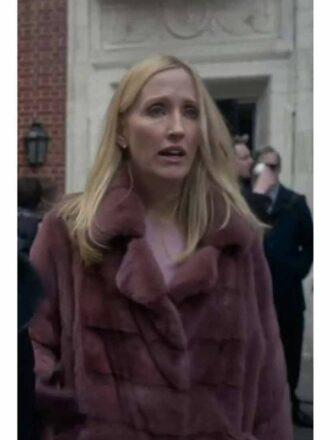 Janel Moloney The Undoing Shearling Coat