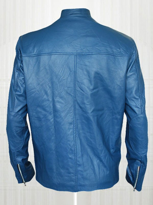 Jon Bon Jovi Captain America Leather Jacket