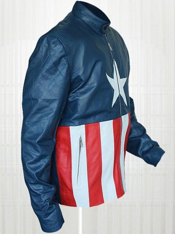 Jon Bon Jovi Concert Captain America Jacket