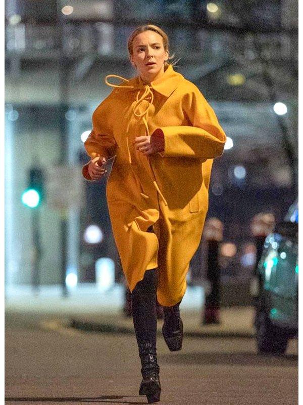 Killing Eve S03 Jodie Comer Wool Coat
