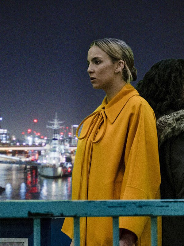 Killing Eve S03 Villanelle Wool Yellow Coat