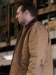 Liam Neeson Cold Pursuit Cotton Brown Jacket