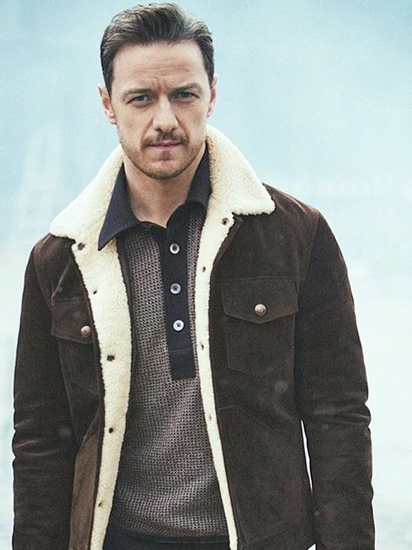 Lord Asriel His Dark Materials Shearling Suede Jacket