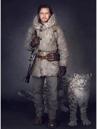 Lord Asriel His Dark Materials White Fur Coat