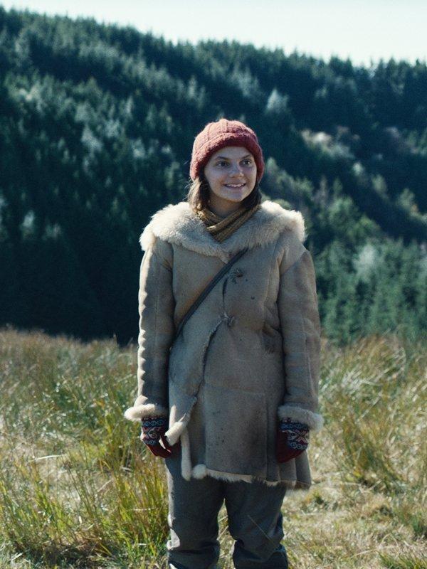 Lyra Belacqua His Dark Materials Fur Hooded Coat