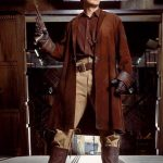 Malcolm Reynolds Firefly Brown Suede Coat