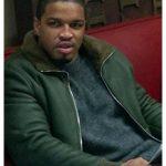 Michael J Ferguson Power Green Leather Jacket