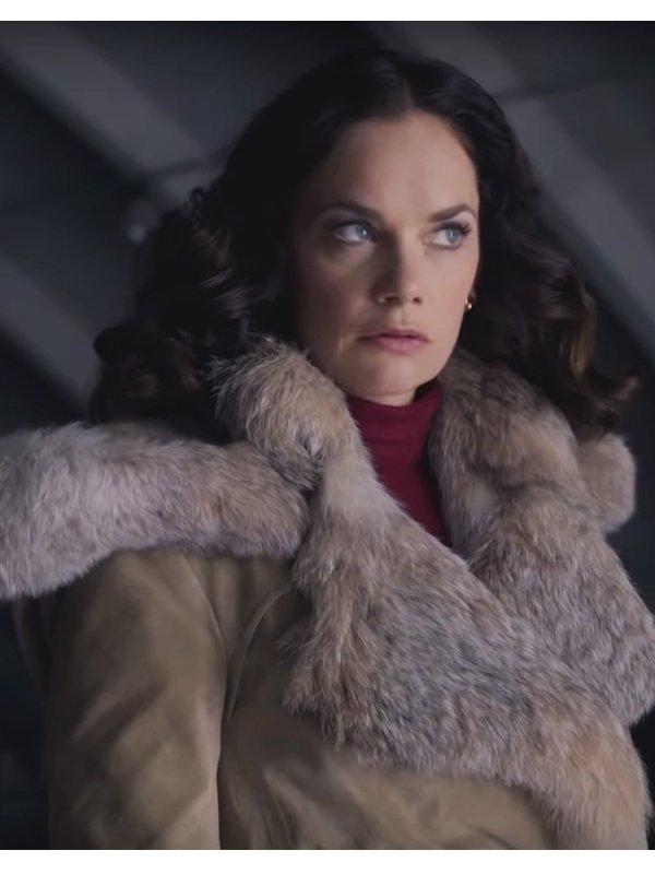 Mrs. Coulter His Dark Materials Beige Cotton Coat