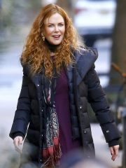 Nicole Kidman The Undoing Black Hooded Coat