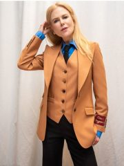Nicole Kidman The Undoing Brown Suit