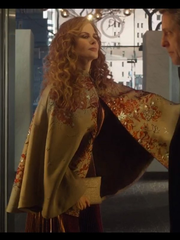 Nicole Kidman The Undoing Cape Coat