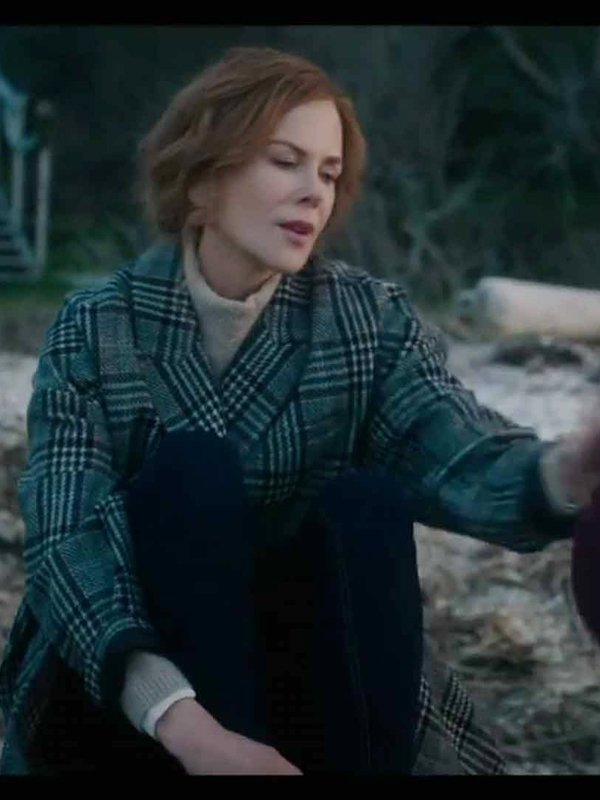 Nicole Kidman The Undoing Checked Coat